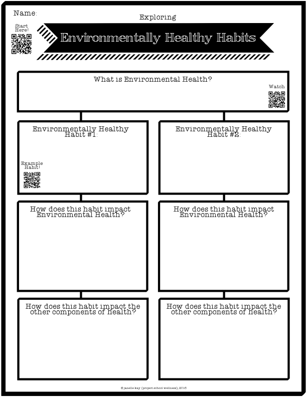Environmental Health Worksheets - level 2.001
