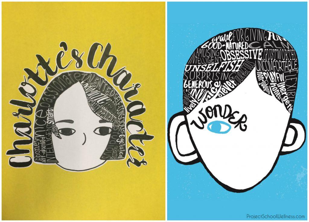 auggies-face-wonder, Wonder Lesson Plans, Wonder by R.J. Palacio