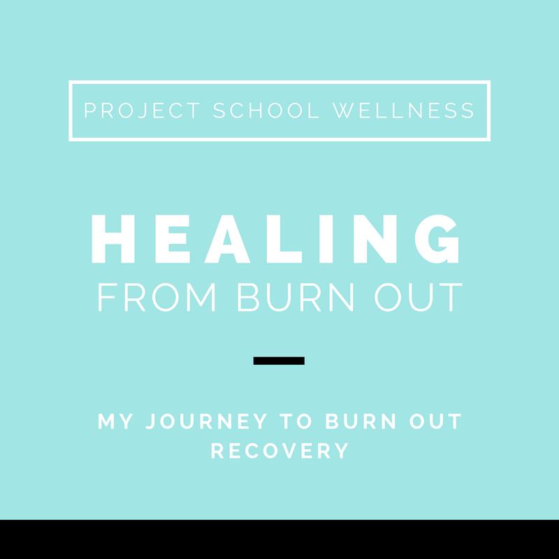 Project School Wellness, Health Blog, Wellness Blog, Teacher Blog, Teacher Burn Out