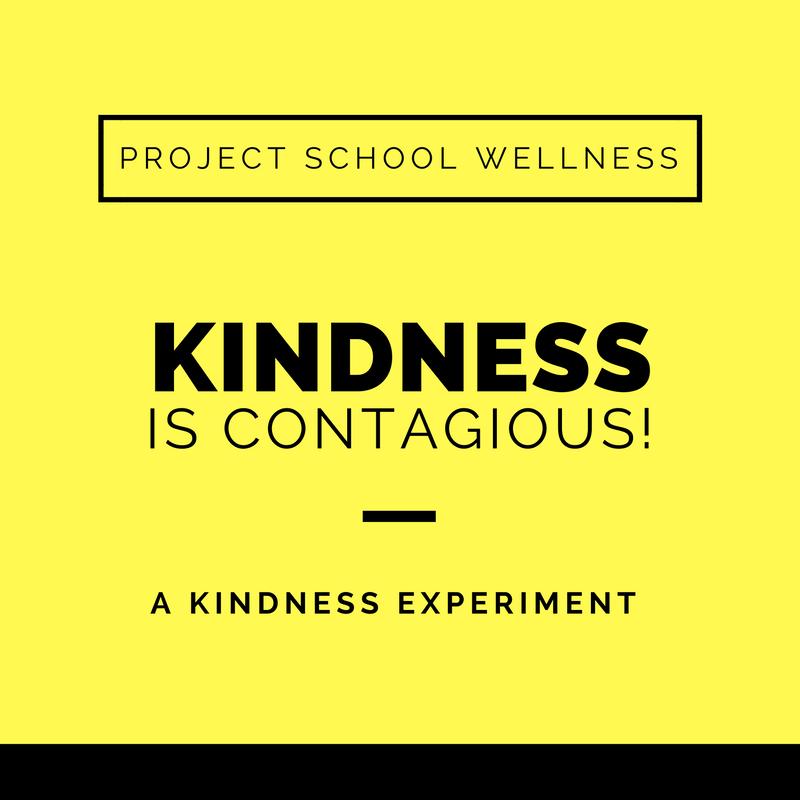Project School Wellness, Health Blog, Wellness Blog, Teacher Blog, Kindness