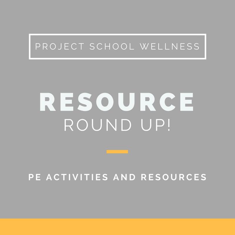 Project School Wellness, Health Blog, Wellness Blog, Teacher Blog, Resource Round Up