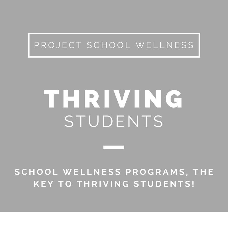 Project School Wellness, Health Blog, Wellness Blog, Teacher Blog, School Wellness Programs