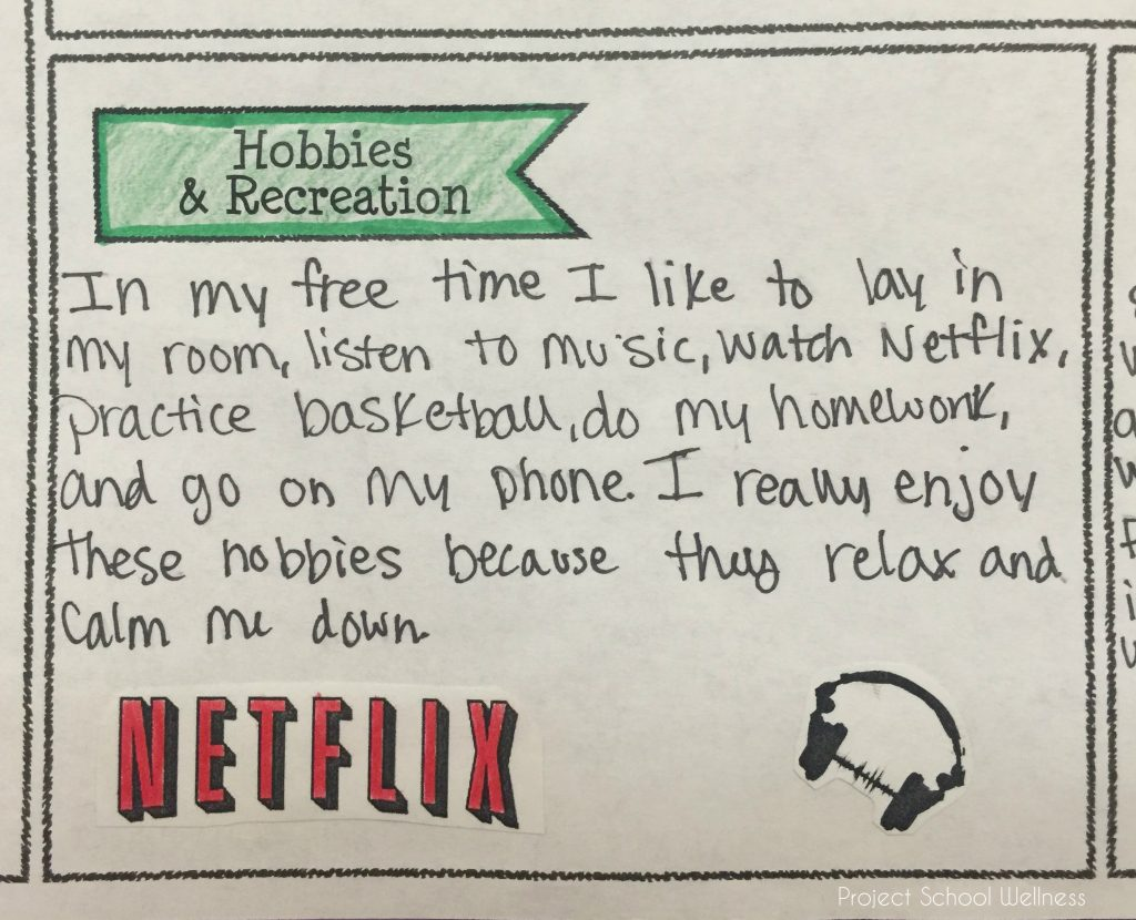hobbies-recreation-all-about-me-project-school-wellness