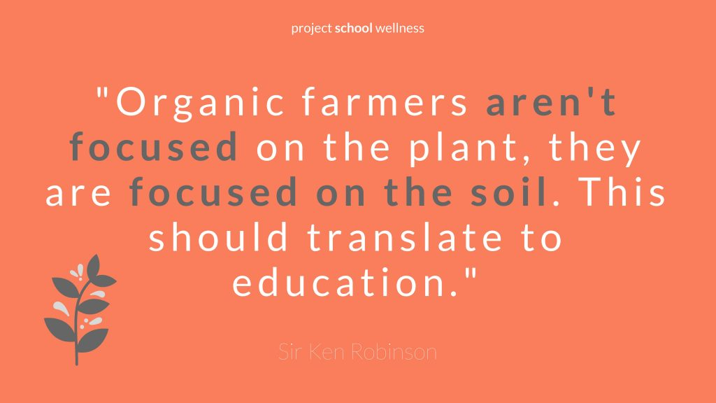Sir Ken Robinson Education Revolution - 5 Sir Ken Robinson quotes to transform your classroom by Project School Wellness
