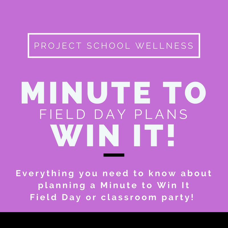 Field Day: Minute to Win It Style - Your guide to hosting an epic Field Day! Ditch the tradition track and field style Field Day and engage students with Minute to Win It games and activities!