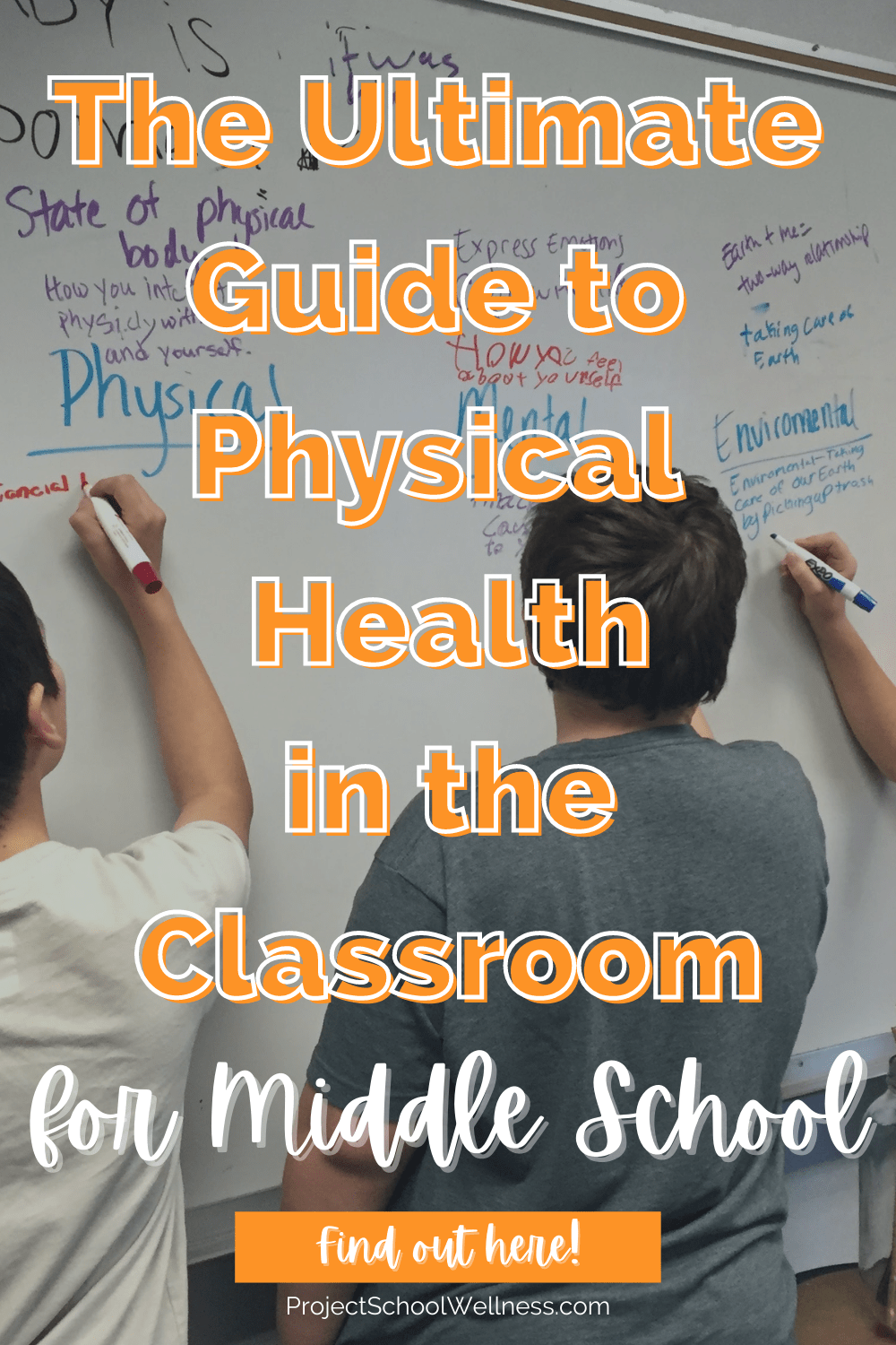 The Ultimate Guide to Physical Health - a project school wellness blog with free lesson plans