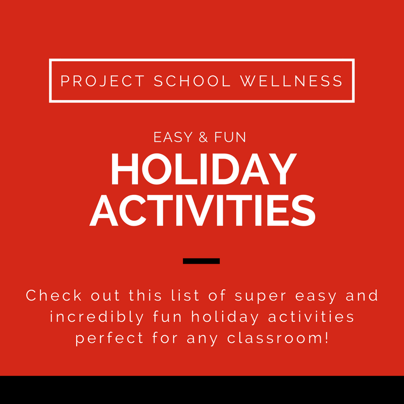 Easy and fun holiday activities for ANY classroom! Perfect for building relationships and celebrating a variety of holidays!