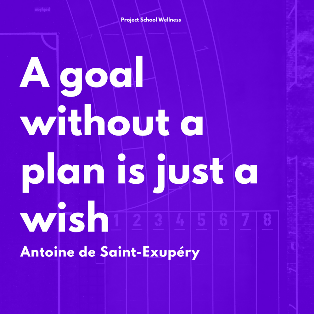 A goal without a plan is just a wish - - A SMART Goal Lesson Plan Bundle for any middle school teacher!