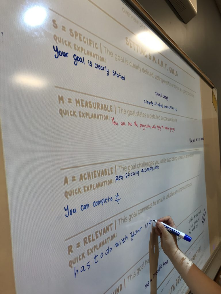 How I teach Middle Schools to Write SMART Goals - Teaching Middle Schoolers How to Write SMART Goals - - A middle school teacher blog all about writing SMART Goals.