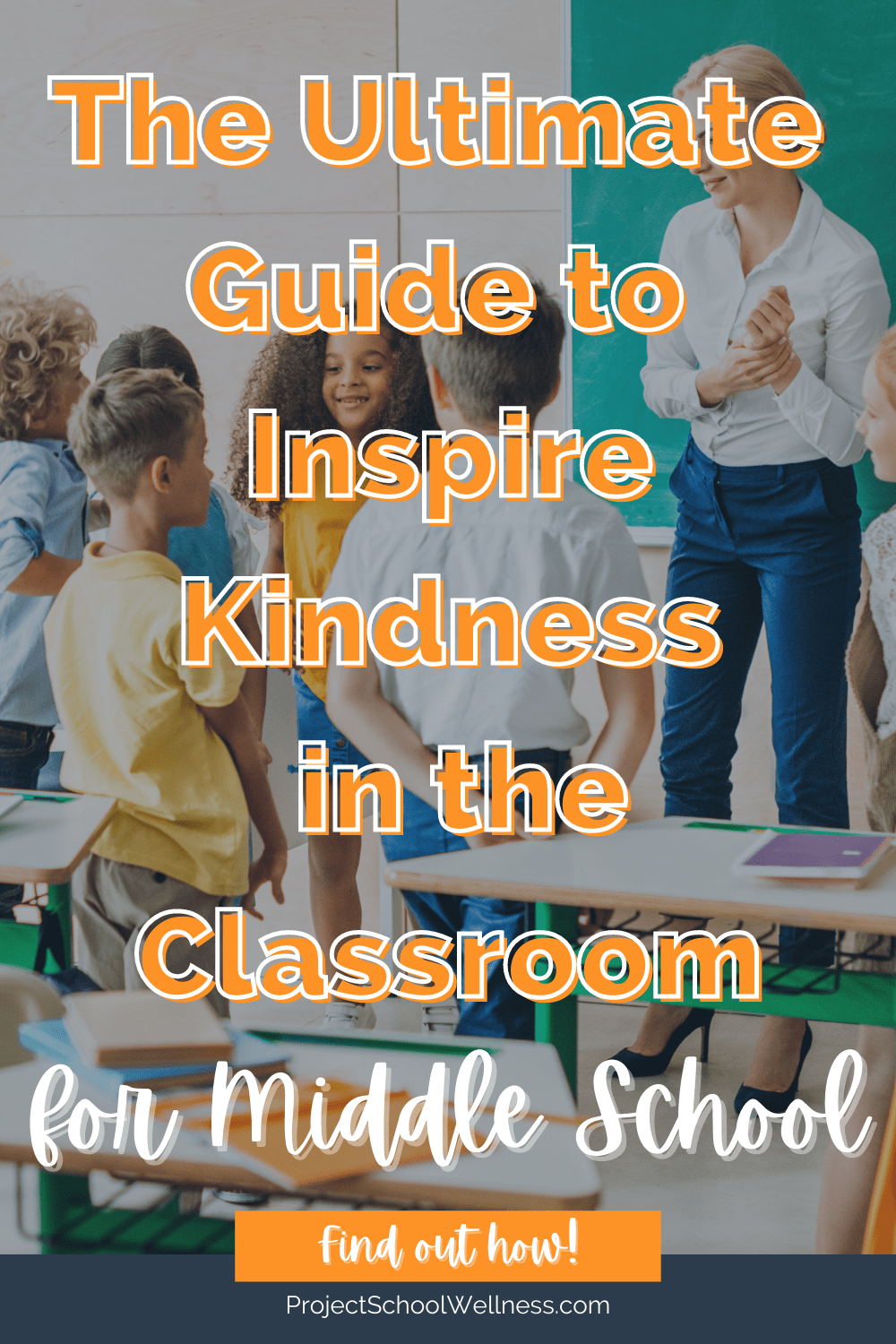 How to Create a Standard of Kindness - a project school wellness blog and teaching resource