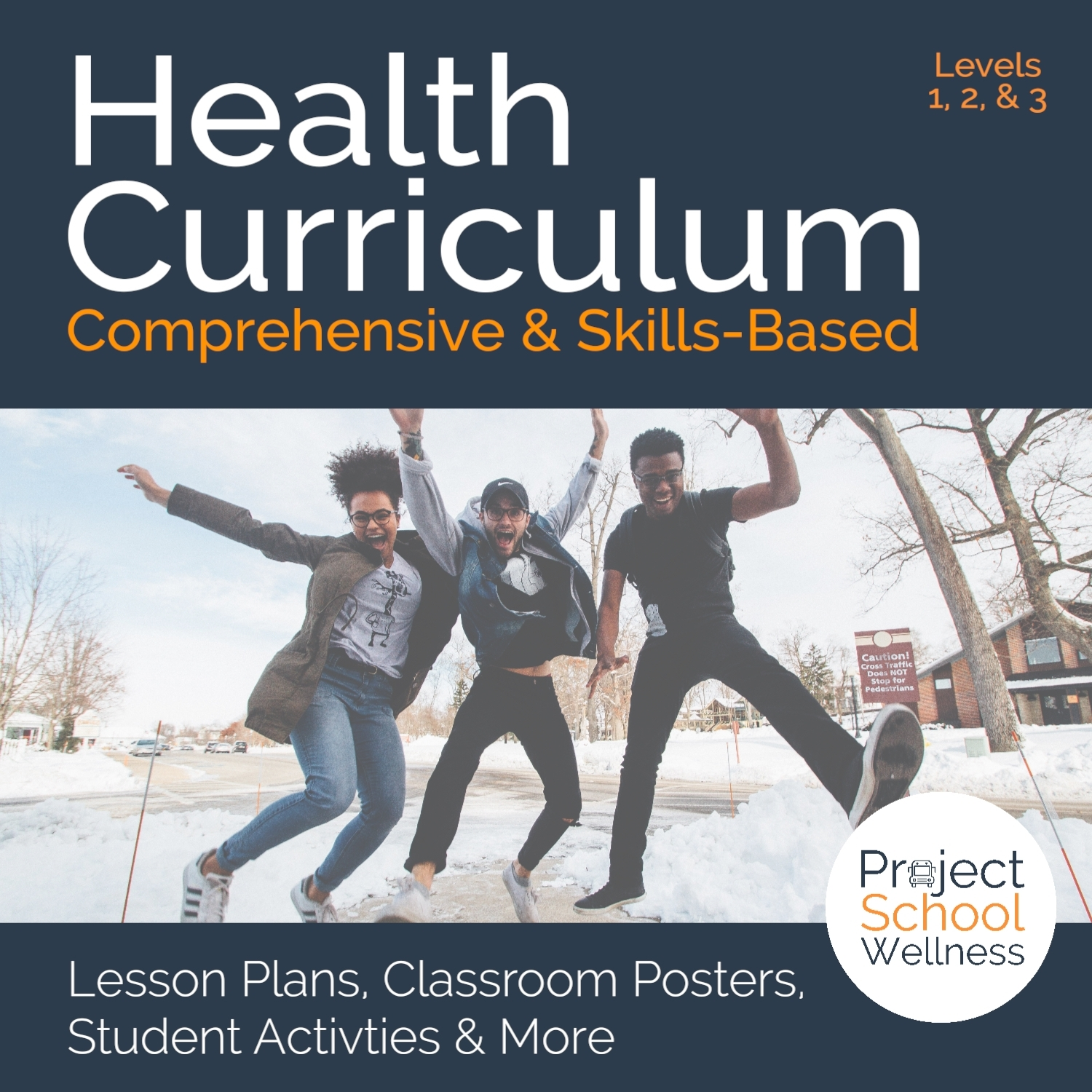 Project School Wellness Store - MIddle School Health Curriculum - Health lesson plans for middle school desgined by a health teacher and aligned to the National Health Standards. This health curriculum comes with hundreds of health assignments for middle school, health activities, and health worksheets all focused on teaching health skills. This is a comprehensive, skills-based health education curriulcum.