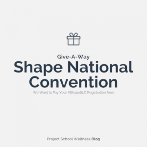 PSW Blog - SHAPE Give-A-Way