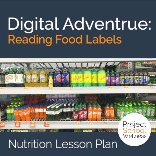Nutrition Lesson Plan - Teach students how to read food labels with this escape room style lesson plan. Students will practice reading food labels to help them make healthy eating choices to build physical health.