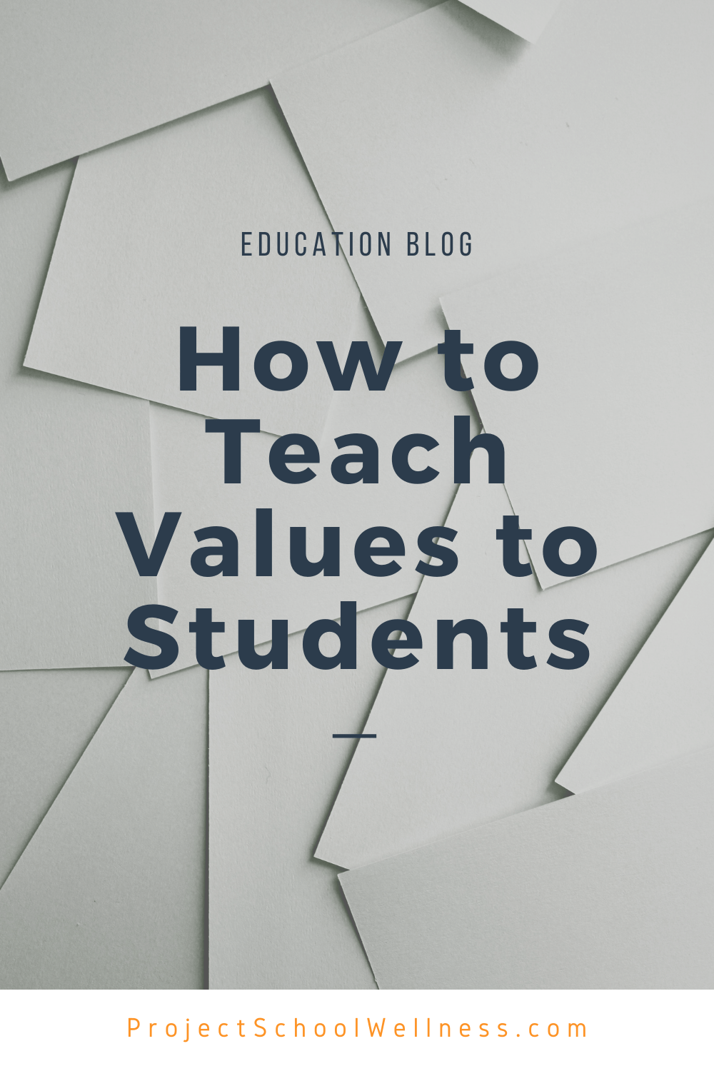 Teaching Values to Students in Health Education - How I teach students to identify their core values