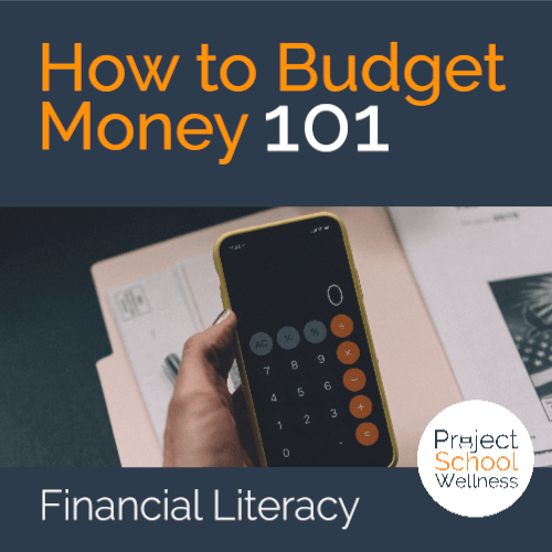 PSW Store - How to Budget Money - Financial literacy lesson plans