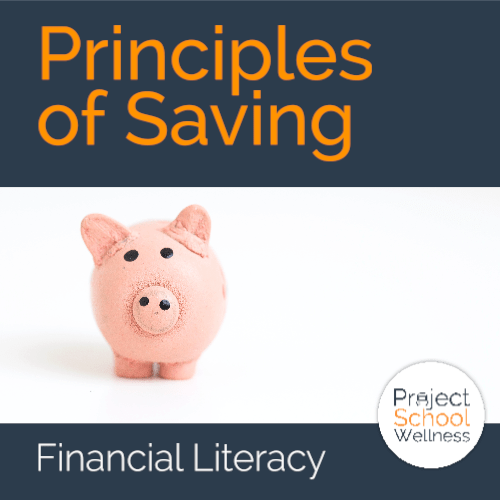 PSW Store - Princples of Saving - Financial iteracy lesson plans