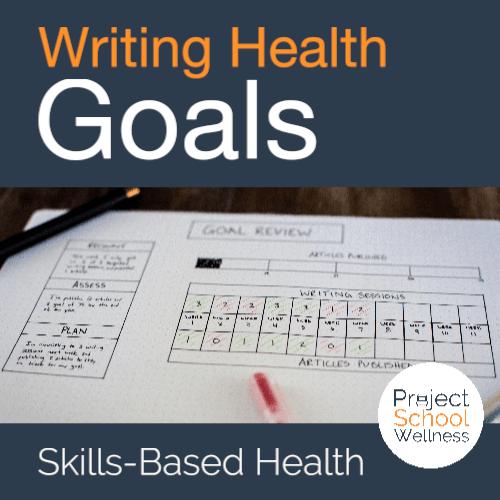 PSW Store -Writing Health Goals
