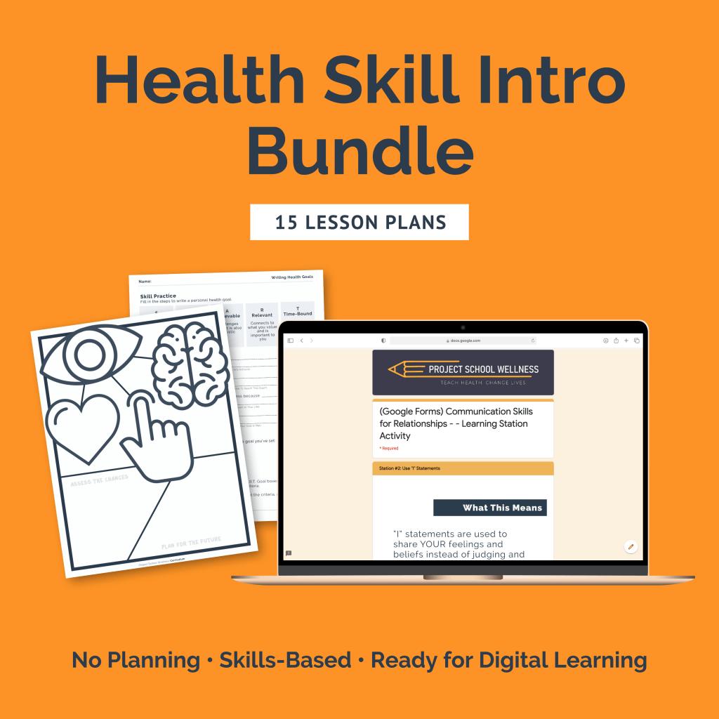 Health Skills Introduction Bundle (a $67 value)